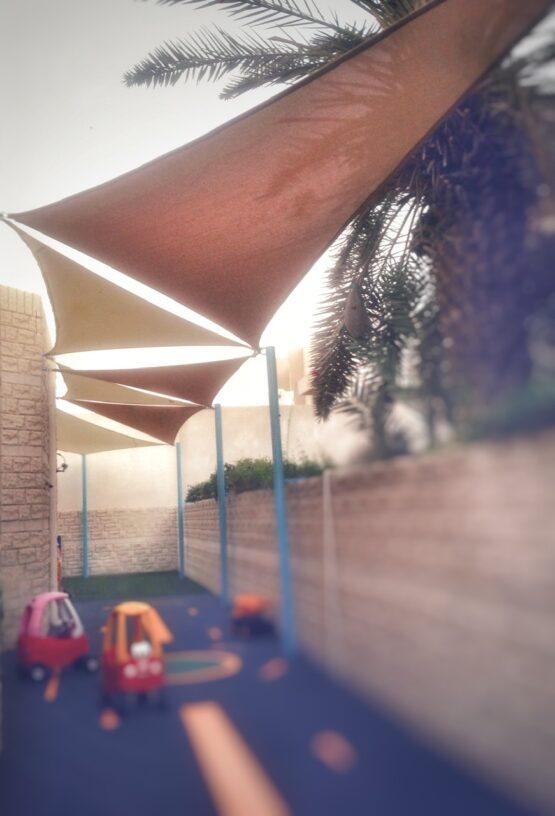 Nursery Shade sail in Jumeirah