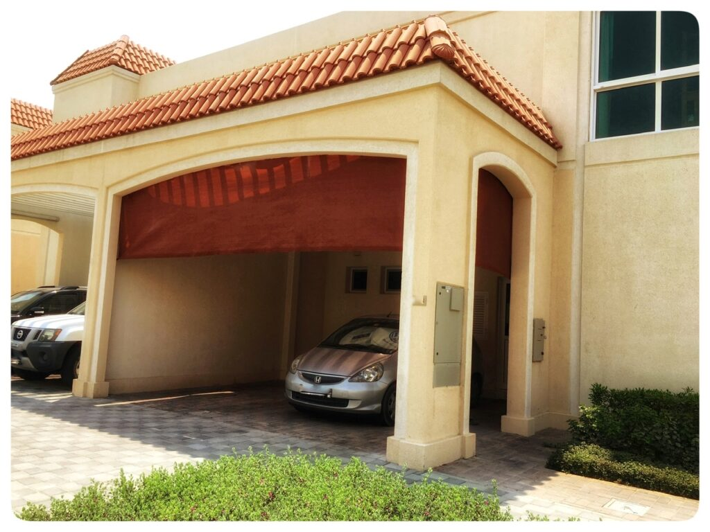 Best car park shade in Dubai