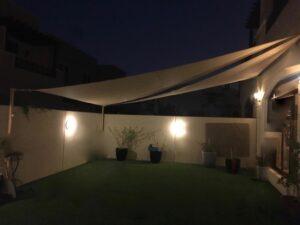 Best garden sail shades in Dubai